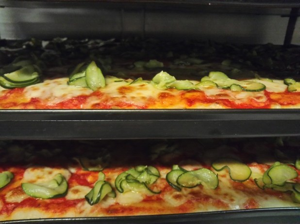 PIZZA ROSSA- FRESHLY BAKED OUT OF THE OVEN