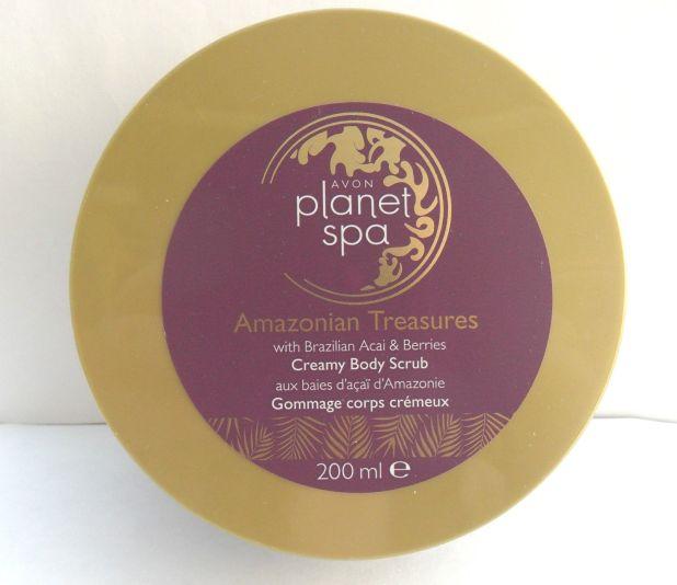 Avon Amazonian Treasures Planet Spa Creamy Body Scrub 1