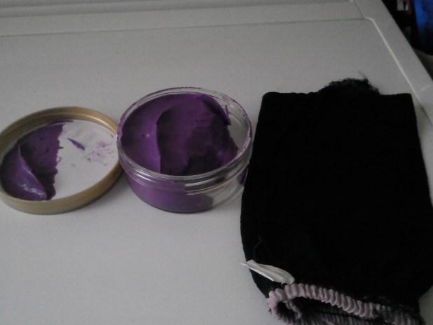 Avon Amazonian Treasures Planet Spa Creamy Body Scrub + Moroccan exfoliating bath glove
