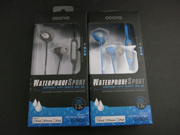 Odoyo Waterproof Sports Earphones in box