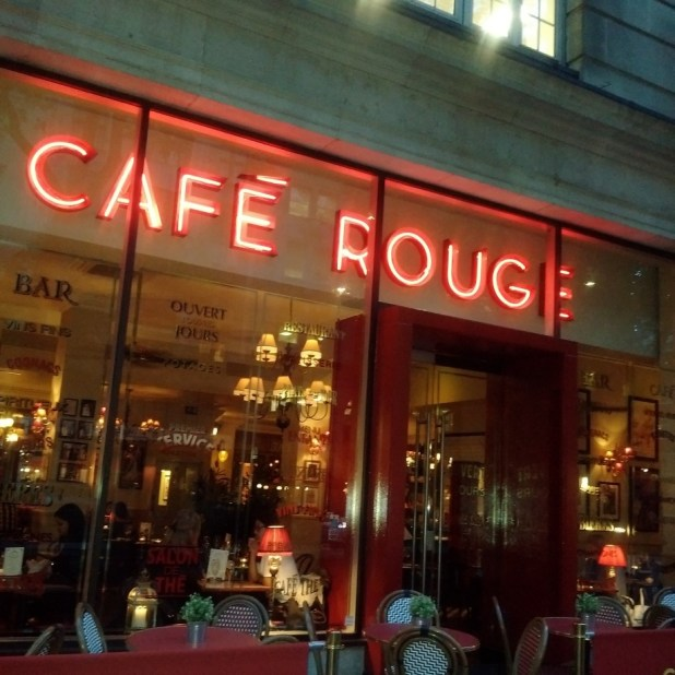 Cafe Rouge launch