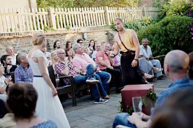 Shakespeare in the Garden - 2014 - scene