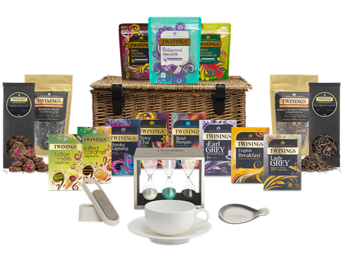 www.Lifeandsoullifestyle.com - Festive Hampers - TWININGS DELUXE TEA HAMPER