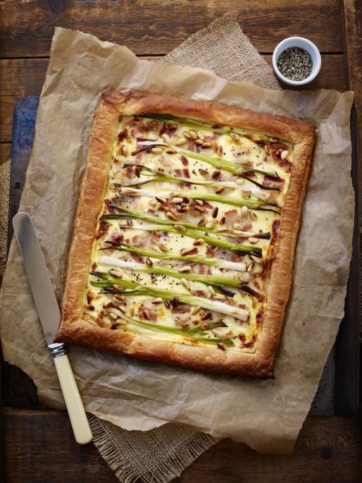 Lifeandsoullifestyle - spring onion tart recipe
