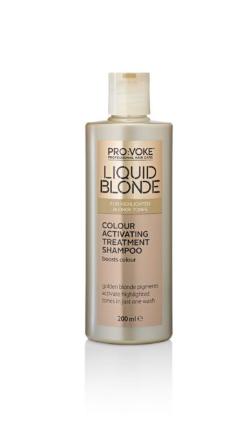 Lifeandsoullifestyle.com - Liquid Blonde Colour Activating Treatment Shampoo 200ml
