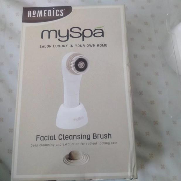 Homedics Myspa Facial Cleansing Brush Life Soul Lifestyle