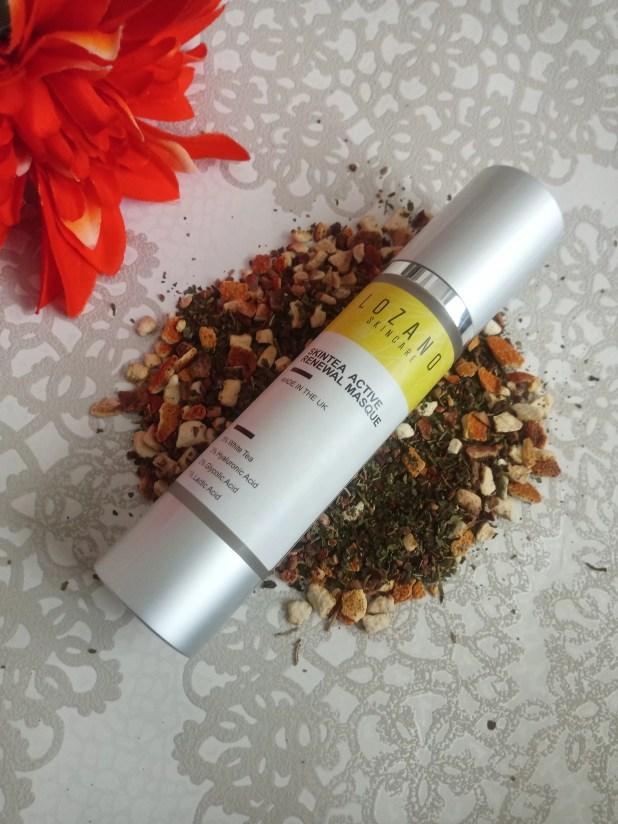 www.lifeandsoullifestyle.com – Lozano Skincare SkinTea Active Renewal Masque skincare review