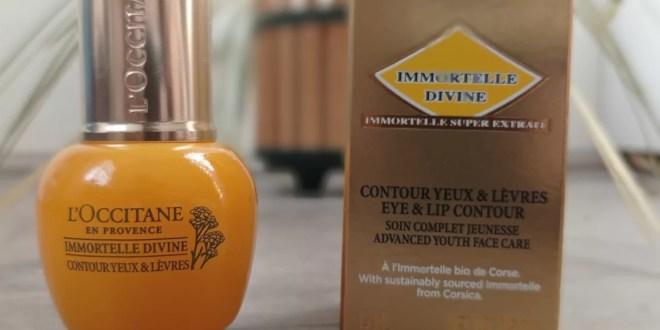 www.lifeandsoullifestyle.com - Immortelle Divine Eye & Lips Contour review