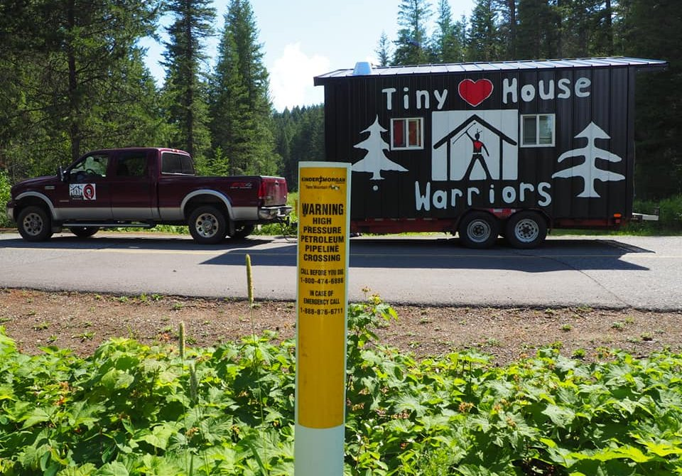 Tiny House Warriors Secwepemc Nation Build Tiny Houses