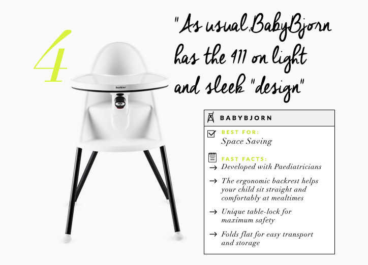 The Definitive Guide to Buying a High Chair with Grace