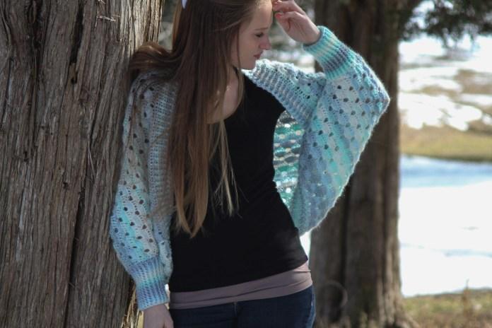 Delta Cocoon Free Crochet Pattern