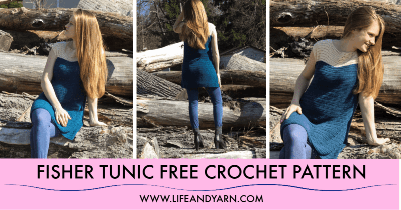 Free Crochet Pattern for Fisher Tunic
