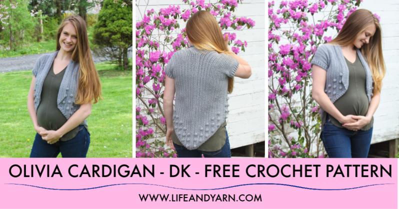 Free Crochet Cardigan Pattern - Olivia