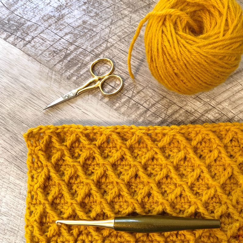 Crochet Stitch Reference Guide