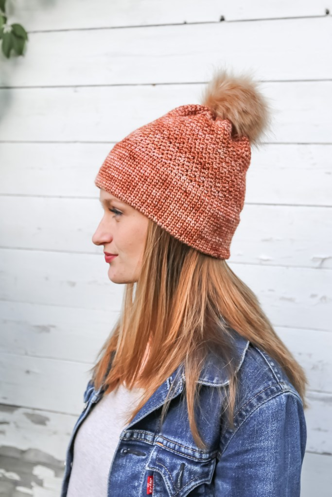 Double Brim Crochet Hat Pattern