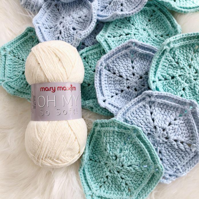 Free Crochet Hexi Pattern