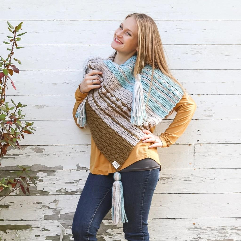 Esmeralda Scarf Crochet Pattern