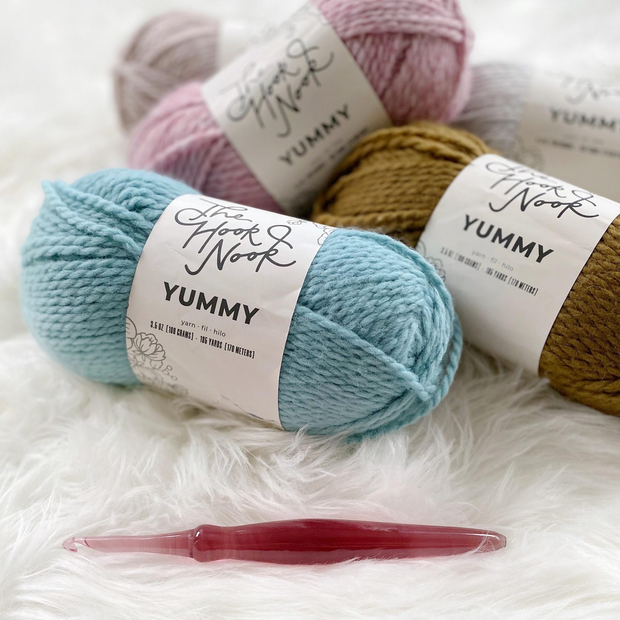 The Hook Nook Yummy Yarn