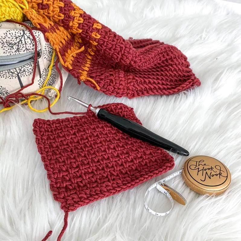 stash busting crochet project