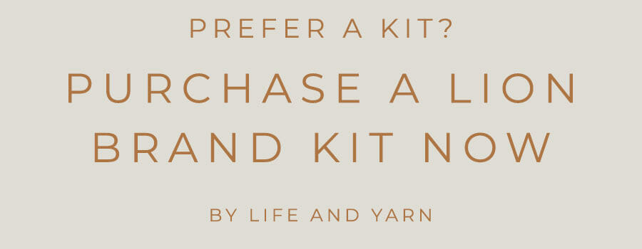 Click to get a Kit from Lion Brand!