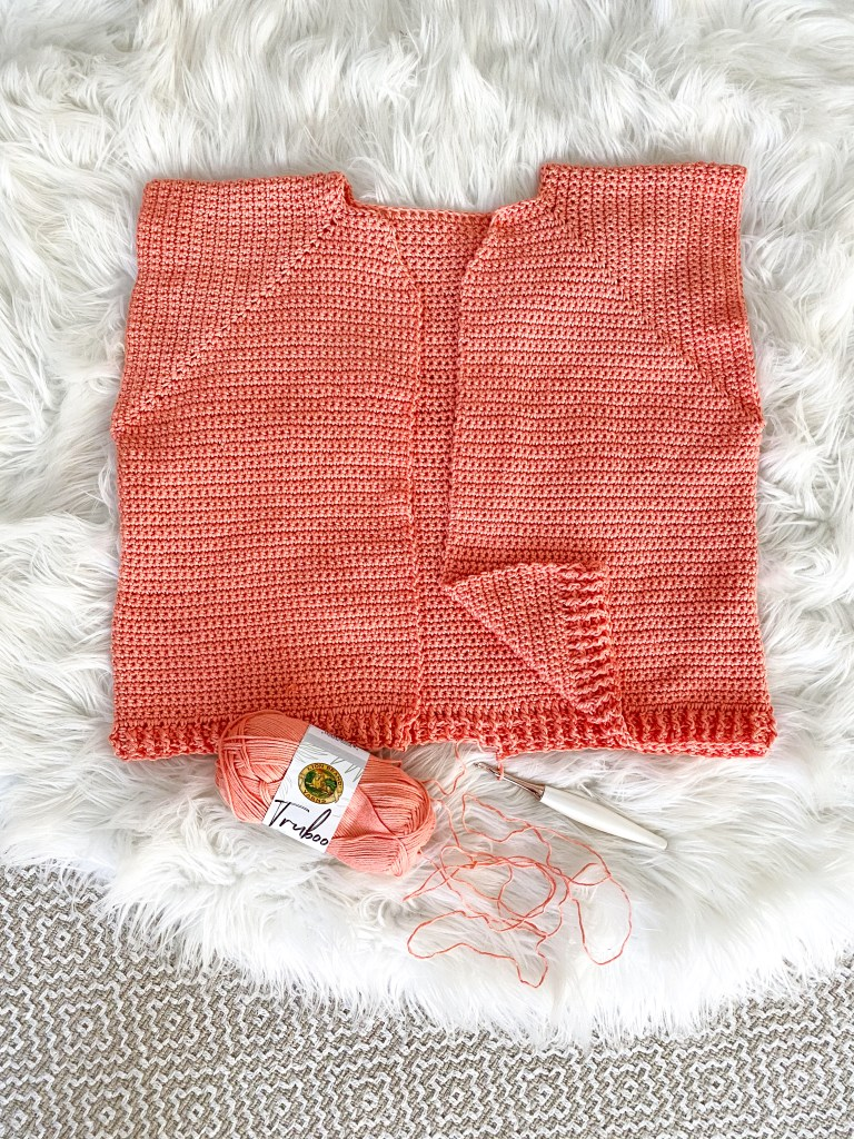 How to crochet a seamless crochet garment!