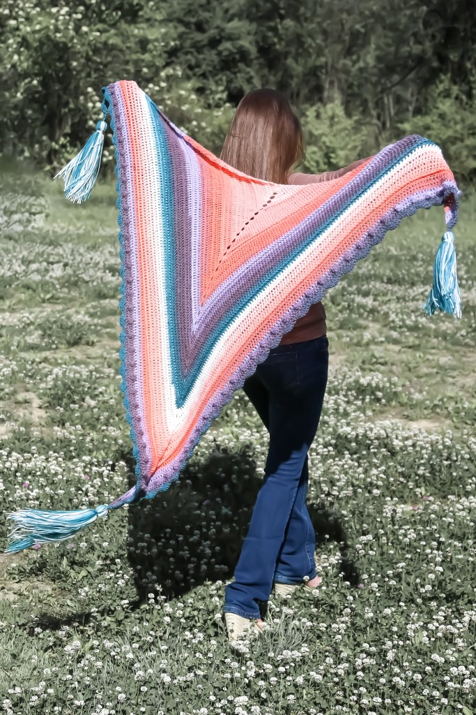 Roux Shawl, accessory piece.