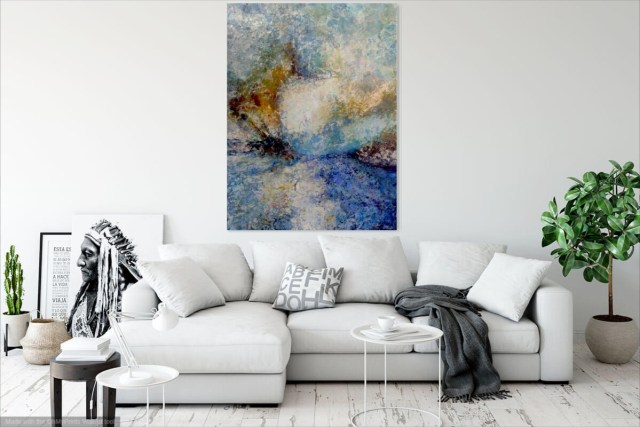 Be Still and Wait Through the Storm | Painting by Leonie Brown | LifeArt.co.za