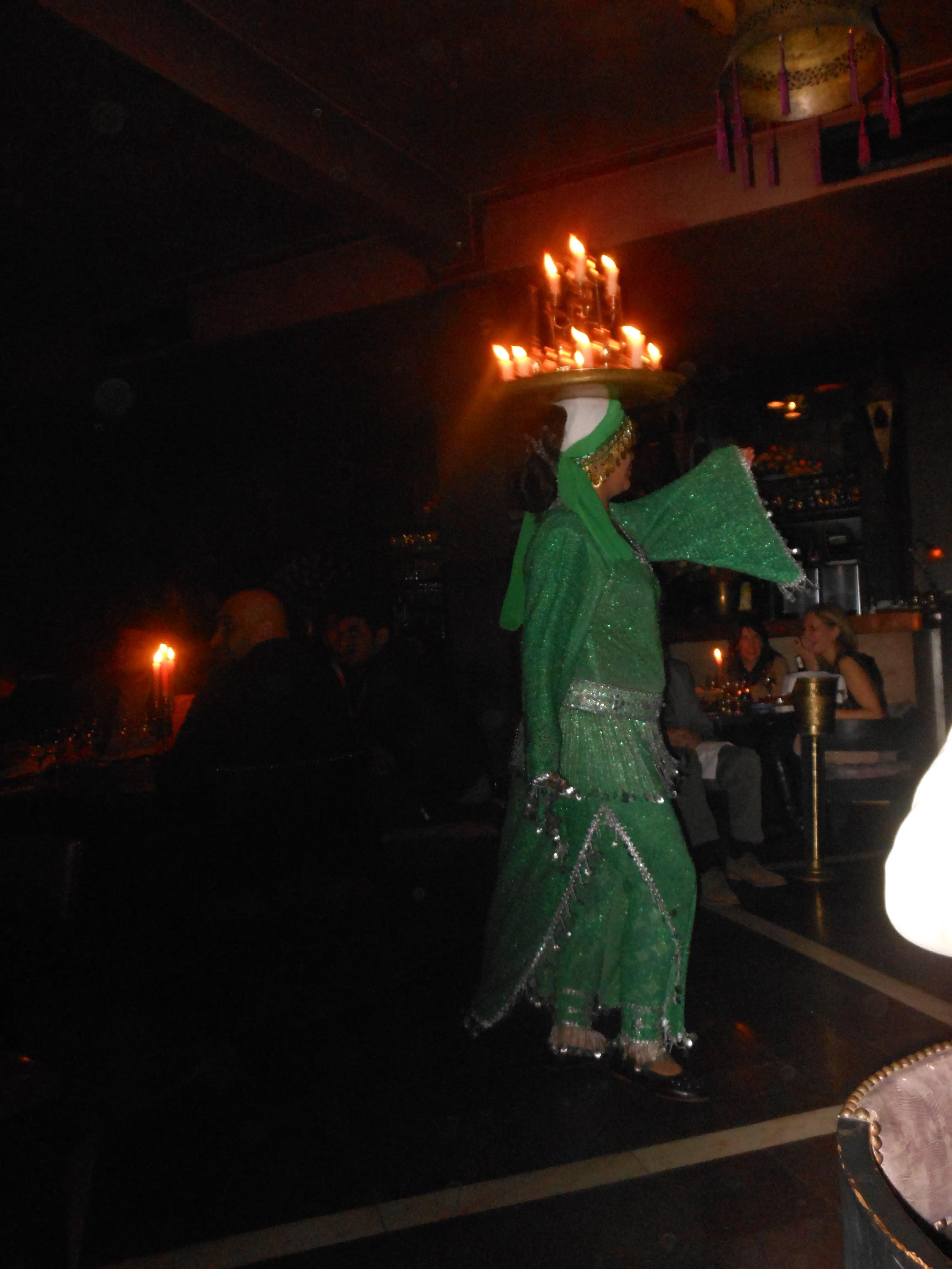 Moroccan belly dancing
