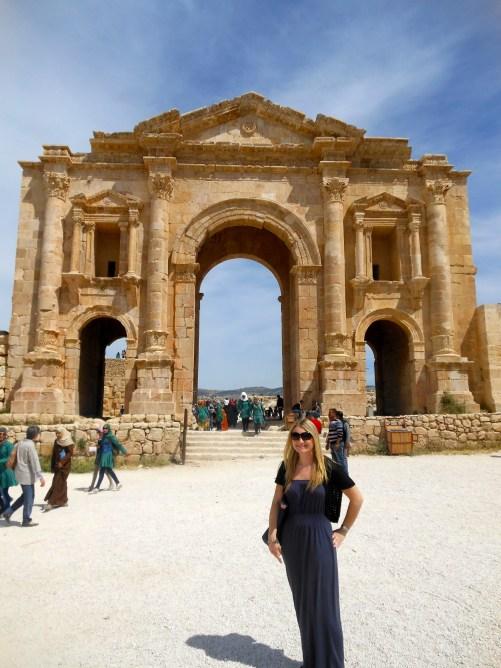 Hadrians gate, Jerash