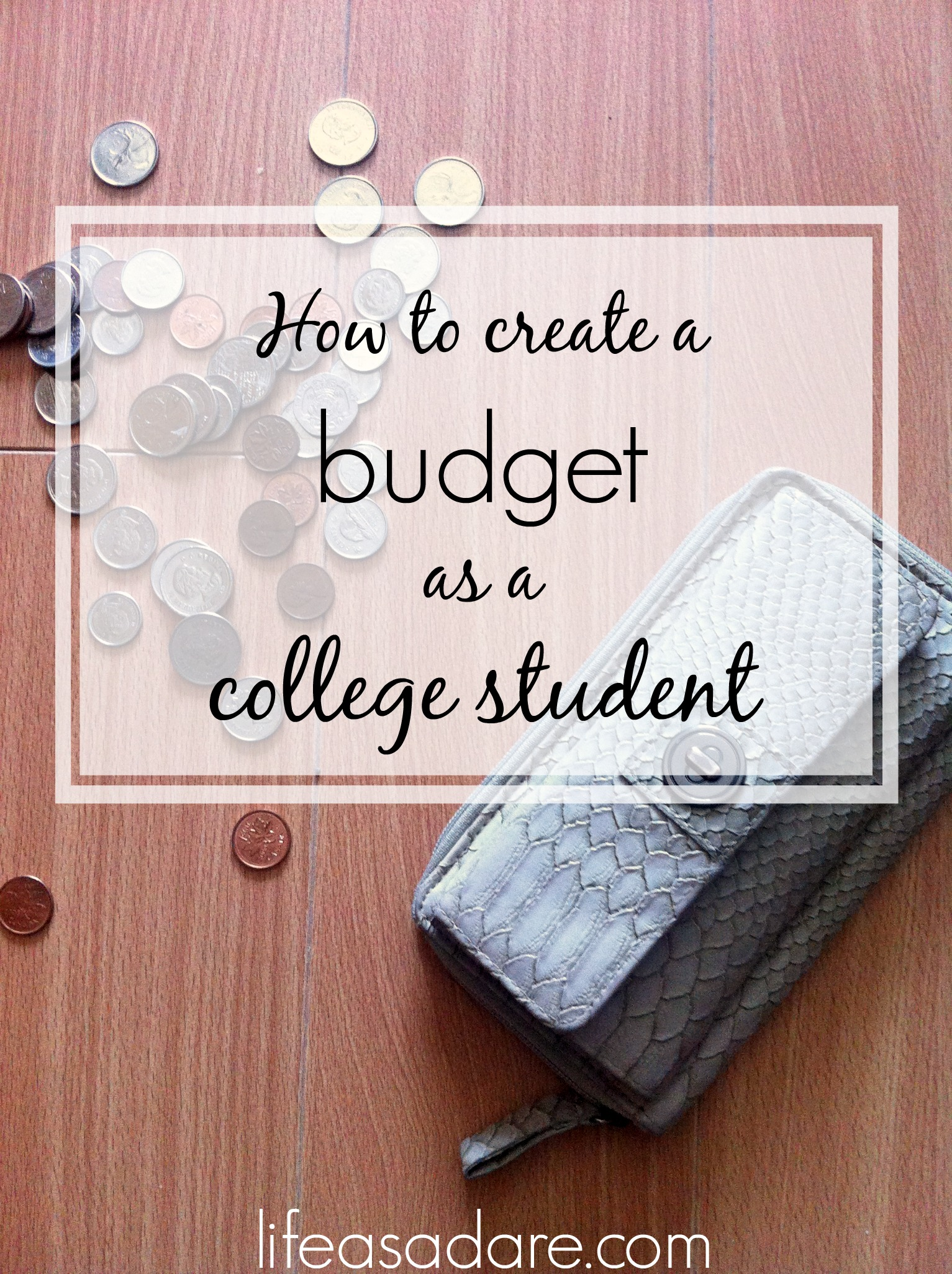 How To Budget Your Money As A Student