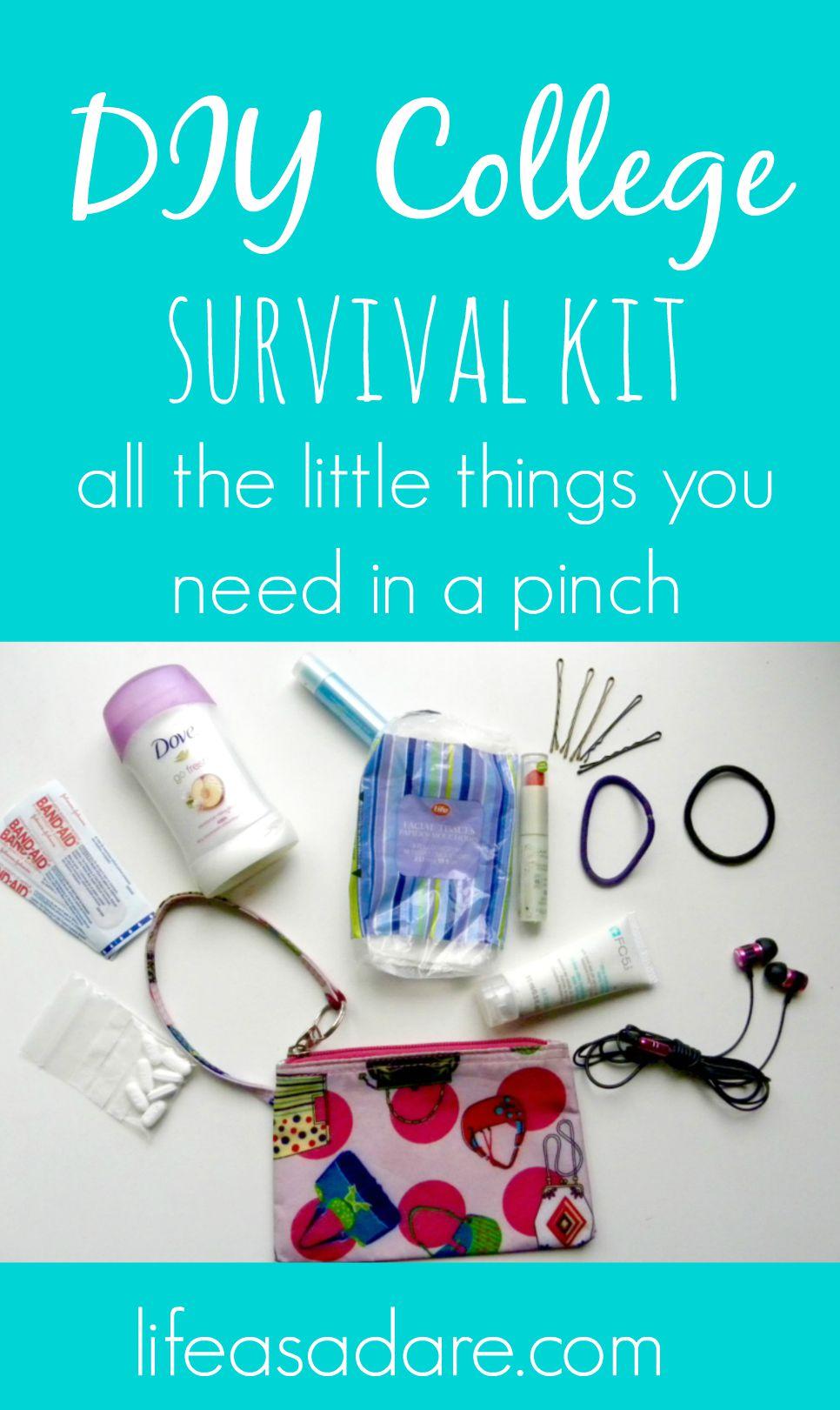 College Survival Kit Ideas : college, survival, ideas, College, Survival