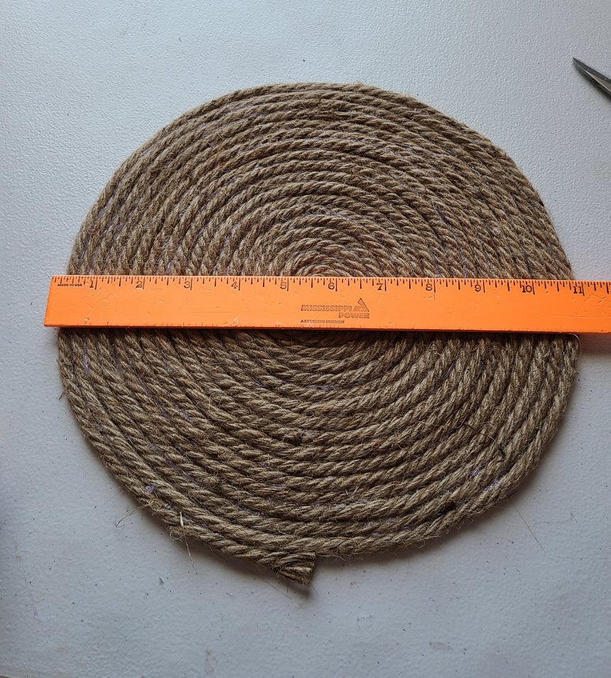 Rope tray start-off