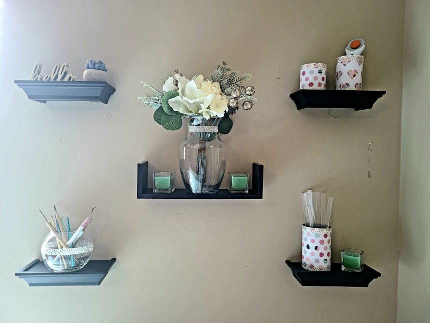 Shelves with