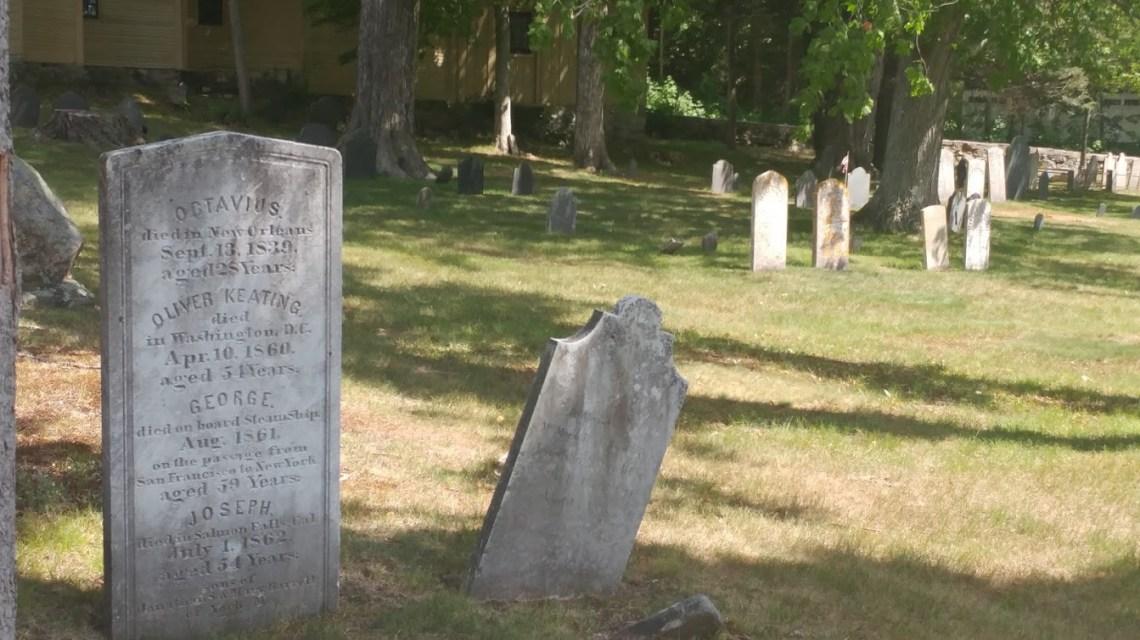 Historical graveyard