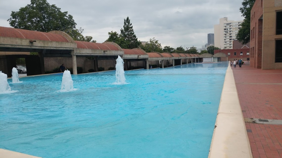 Another view of reflection pool