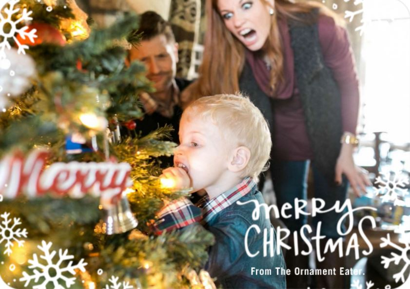 Then And Now Christmas Card. christmas cards with the project life ...