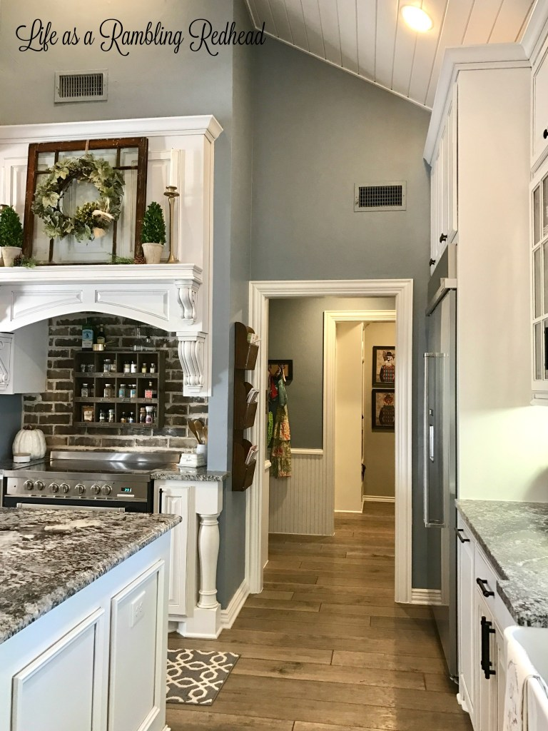 Cheers to the kitchen renovation that almost killed us in for Renovated kitchens white cabinets