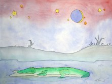 Sleepy Safari, Crocodile
