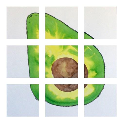 Avocado Grid