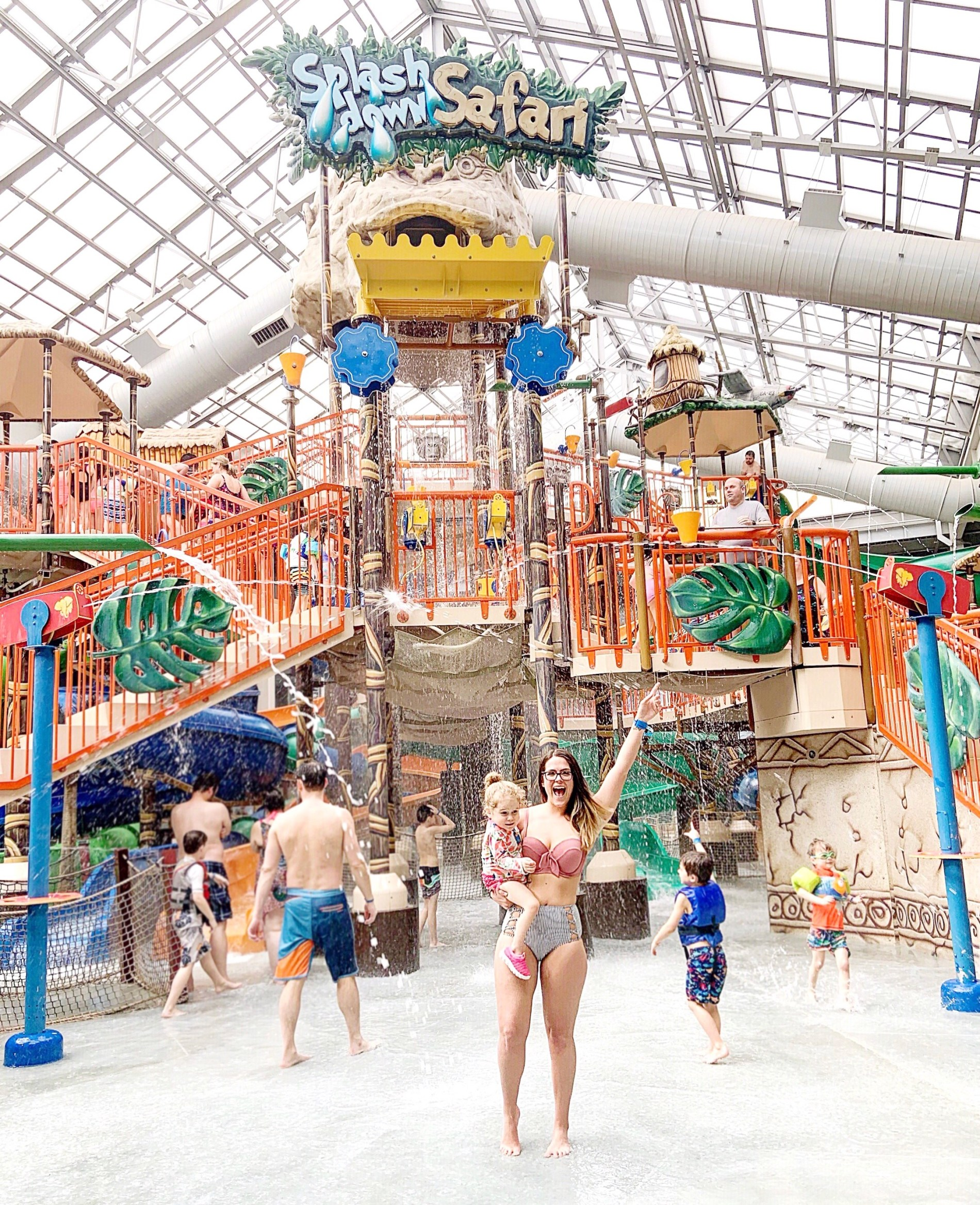 Kalahari Resorts America S Largest Indoor Waterpark Life As Leah