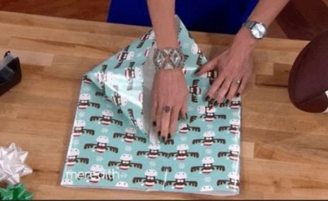 How To Wrap Oddly Shaped Gifts This Will Come In Handy