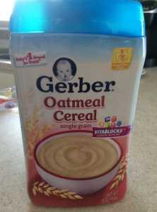 gerber-oatmeal