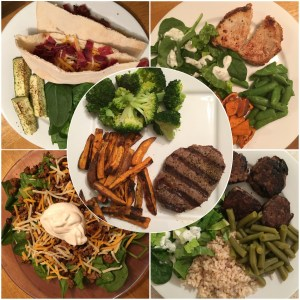 21 Day Fix Week 1 Dinner Ideas