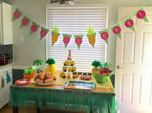 First Birthday Hawaiian Luau