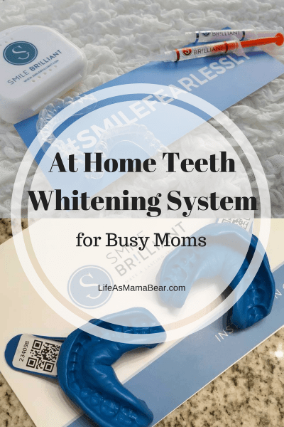 At Home Teeth Whitening System by Smile Brilliant.