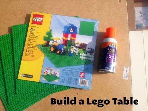 DIY on a Dime Build a Lego Table