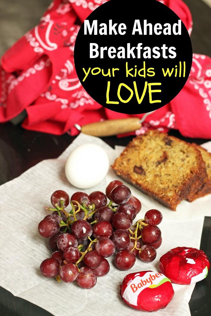 Make Ahead Breakfast Ideas Your Kids Will Love - Good ...
