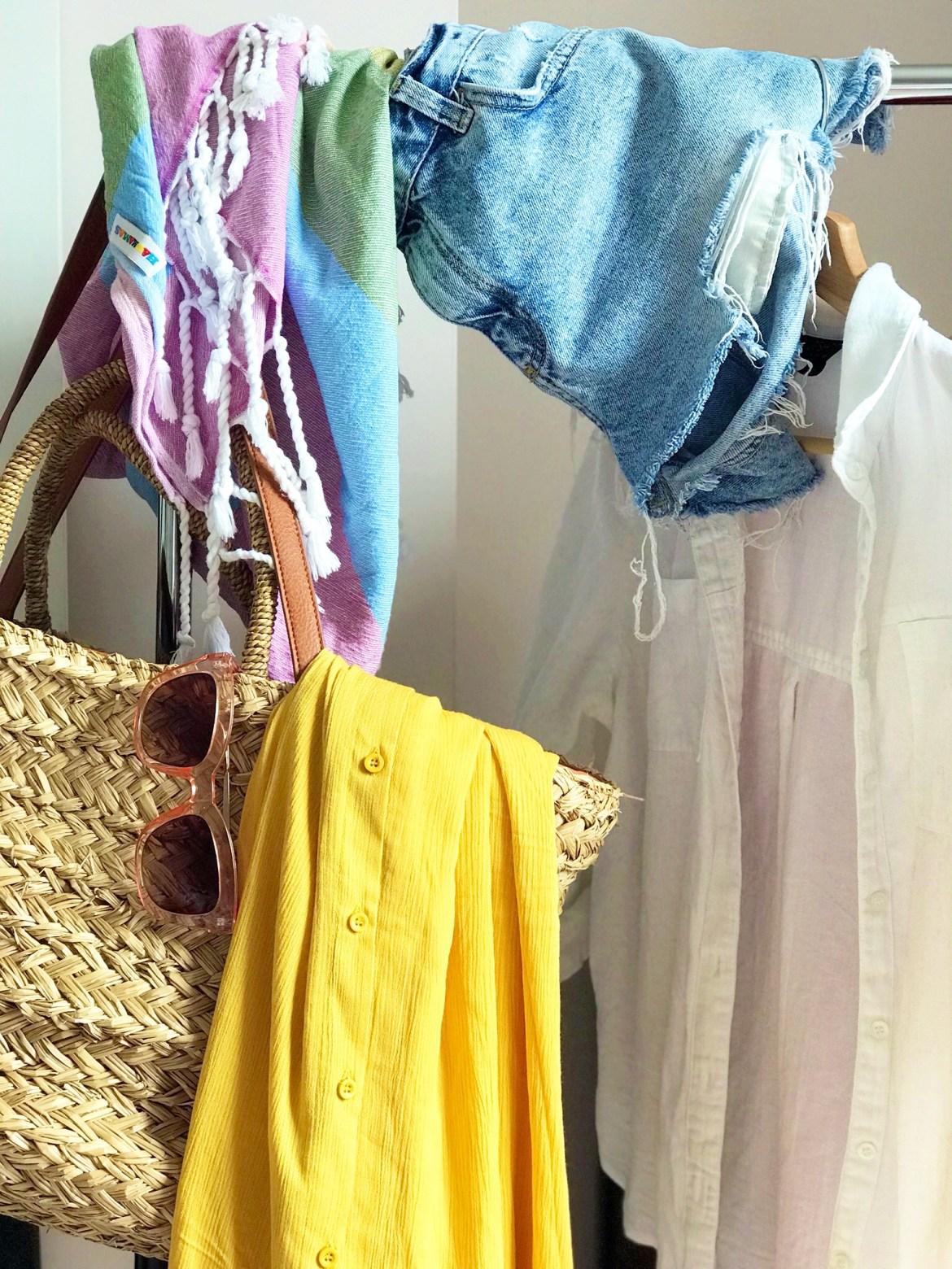 My summer holiday wardrobe...