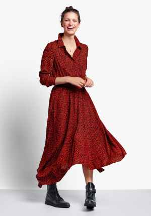 Long Sleeve Kensington Dress