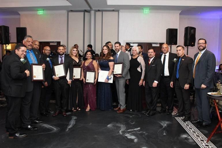 Hispanic Officers Honor Alberto Goncalves at Annual Gala